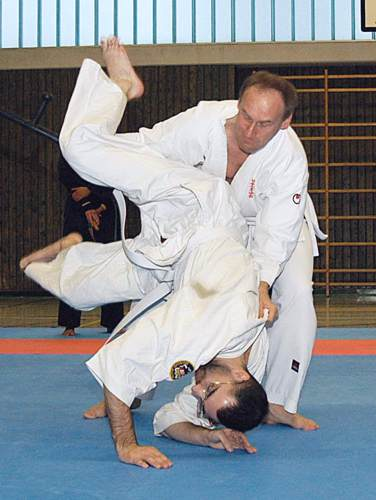 TONFA-SV/ MES-Training mit J. Mayer